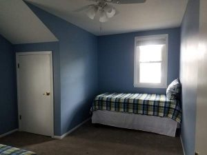 After view of a room in the East Troy remodel.