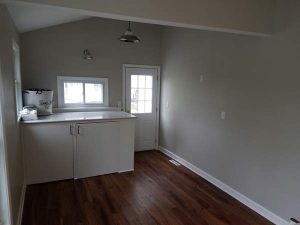 After view of the laundry area of the East Troy remodel.