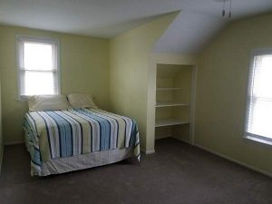 After view of a bedroom of the East Troy remodel.